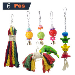 Bird Products NZ - 6 Paper Set Parrot Toys Group Combine Parrot Small Favour And Put Sb. In Important Position Product Directly For Bird Toys