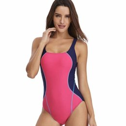 1f0667a2a3e Professional Swimwear One UK - Professional Sports Swimsuits One Piece High  Elastic Women Bather Beach Body