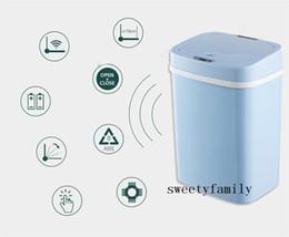 venda por atacado Multifuncional Novice Mãe Fraldas Barrel 2020 Quarto Diaper baldes do bebê Intelligent Sensor Thicken Cozinha Conveniência Trash Can