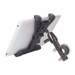 $enCountryForm.capitalKeyWord Canada - Universal Bike Mount Bracket Motorcycle Tablet PC Stand Holder Aluminum Alloy 360 Degrees Rotating GPS Holder For 7-10.1 Inch PC