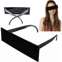 sunglasses bars NZ - Fancy Glasses Photobooth Props Censor Bar Sunglasses Black Eye Covered Sunglasses Photo Booth Props Weeding Party Decoration