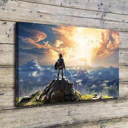 $enCountryForm.capitalKeyWord Australia - Legend of Zelda Breath,Home Decor HD Printed Modern Art Painting on Canvas (Unframed Framed)