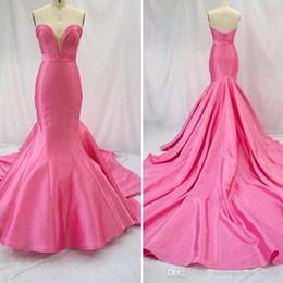 $enCountryForm.capitalKeyWord Australia - Long Dress Elegant Vestidos Do Baile De Finalistas 2019 Sweetheart Satin Mermaid Prom Dress Cheap Evening Dresses Made in China