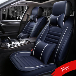 Jetta car accessories online shopping - Universal Fit Most Car seat cover For Volkswagen Beetle CC Eos Golf GTI Jetta Passat Touareg sharan Automobiles seat covers NEW