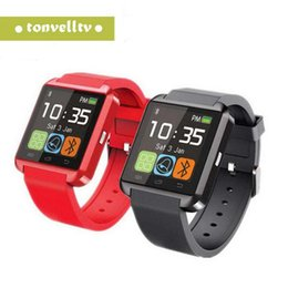 $enCountryForm.capitalKeyWord Australia - Bluetooth Smartwatch U8 U Watch Smart Watch Wrist Watches for iPhone Samsung HTC Android Phone Smartphones for gift with DHL shipping