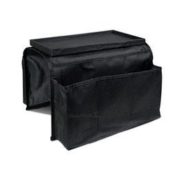 Best Clothing Australia - Practical Hanging Bag Remote Control Storage Bags Sofa Handrail Bedroom Office Holder Arm Best Organizer W9348