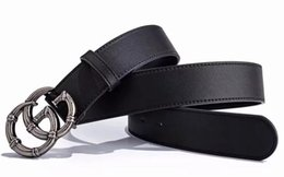Decorative Leather Belts NZ - Women's and men hollow leather belt female pin buckle casual wild ladies belt retro fashion decorative jeans