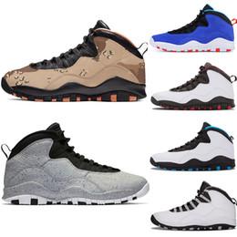 sports shoes 7cabe 24d5c Chaussures de basket pour hommes 10 Desert Cat Tinker Cement 10s chaussures  pour hommes Gris cool gris iam retour Baskets bleu sport baskets taille 7-13