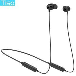 $enCountryForm.capitalKeyWord Australia - Tiso S8 Bluetooth headphone wireless earphone neckband MP3 music game video headset IP67 waterproof sport microphone earbuds