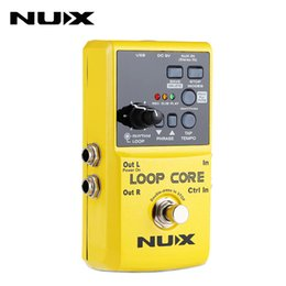 Loops Pedals Australia - Best NUX Loop Core Effect Guitar Electric Effect Pedal Durable Guitarra Effect Pedal 6 Hours Recording Time