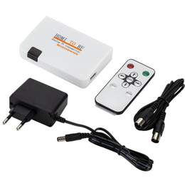 Rca Remotes online shopping - HDMI To RF Coaxial Converter Box With Remote Control EU UK US