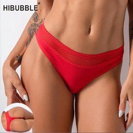 cotton string bikini underwear wholesale Australia - 16 Colors Sexy String Thong For Ladies Cotton Panty G String Tanga Plus Size Panties Seamless Underwear Women Lace Underpants
