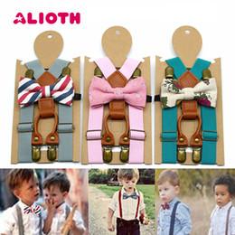 $enCountryForm.capitalKeyWord NZ - Alioth Elastic Baby Bowtie Suspenders Set Cute Children Bowties Y-Back Suspenders for Wedding Kids Polka Dots Bow Ties Braces