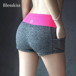 Formal clothes For women online shopping - 3pcsBlesskiss Soft Yoga Sport Shorts For Women Gym Fitness Clothing Summer Spandex Lulu Neon Short Workout Leggings Feminina C19041101