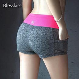 Clothing modal yoga online shopping - 3pcsBlesskiss Soft Yoga Sport Shorts For Women Gym Fitness Clothing Summer Spandex Lulu Neon Short Workout Leggings Feminina C19041101