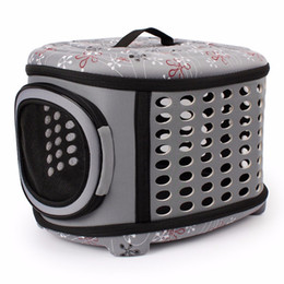 $enCountryForm.capitalKeyWord Australia - Gomaomi Collapsible Dog Bag Pet Carrier House with Hard Cover Expandable Pet Travel Kennel for Most Cats, Small Dogs