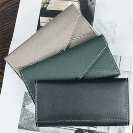$enCountryForm.capitalKeyWord Australia - multi-function Ladies Long Wallet Large Capacity Portable Clutch Bag Simple Fashion Coin Purse Champagne