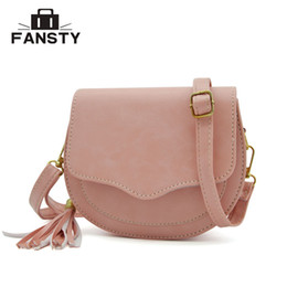 $enCountryForm.capitalKeyWord NZ - hobo New Arrival Women Preppy Style Circular Shoulder s Korean Tassel Woman Messenger Bag Girl's Small Saddle Cross Body Bag