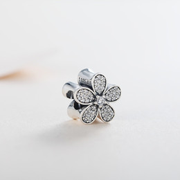 $enCountryForm.capitalKeyWord Australia - New Authentic Real 925 Sterling Silver Spring Daisy Pandora Charms Fit Pandora Bracelet