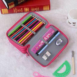 $enCountryForm.capitalKeyWord Australia - High Capacity Box Stationary Pen Pouch Bag Makeup Storage Bag Pen Pencil Case Storage Box Coin Holder Stationery Case