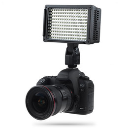 Wholesale Lightdow Pro High Power 160 LED Video Light Camera Camcorder Lamp with Three Filters 5600K for DV Cannon Nikon Olympus Cameras LD-160 BA