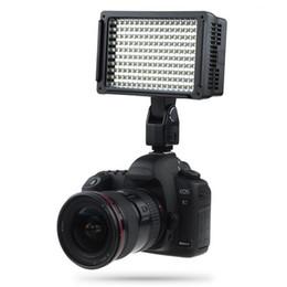 Vente en gros Lightdow Pro Haute Puissance 160 LED Lampe Vidéo Caméscope Caméra avec Trois Filtres 5600K pour DV Canon Nikon Olympus Appareils photo LD-160 BA