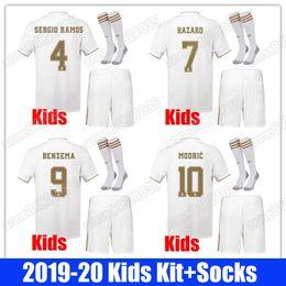 $enCountryForm.capitalKeyWord Australia - 19 20 Real Madrid Sports Kids Kit Socks Soccer Jerseys ISCO HAZARD 2019 2020 Home Away SERGIO RAMOS Boy Child Youth Modric Football Shirts