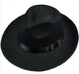 Black Blocks Australia - Too felt hat Fashionable, beautiful, block out the sun Red blue black gray brown Burgundy beige Leisure travel Catch someone's eye