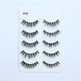 $enCountryForm.capitalKeyWord Australia - WSP wispy False eyelashes 3D Full Strip False Eyelash reusable False eyelashes with transparent stalks