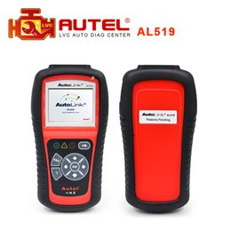 autel obdii scan tool UK - 2017 Top-rated 100% Original Autel AutoLink AL519 OBDII EOBD & CAN Scan Tool Support Online Update free shipping