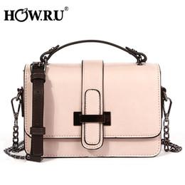 Ladies Side Handbags Australia - Howru Brand Pu Leather Women Bags Designer 2019 Small Chain Side Bag Fashion Woman Crossbody Shoulder Bag Ladies Luxury Handbags J190513