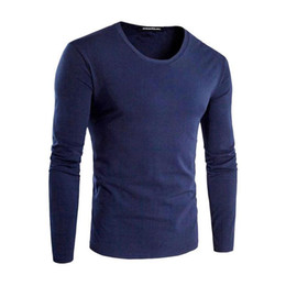 $enCountryForm.capitalKeyWord UK - Men S T-shirts Cotton Elements 5xl O-neck Vegan Casual Tops Solid Tshirt Male Long Sleeve Men T Shirt Mens Clothing 2019