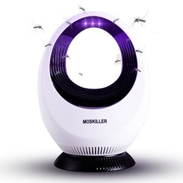 Vente en gros 2019 nouvelle lumière UV creuse anti-moustique tueur interface USB ABS protection de l'environnement non toxique production de nouveaux matériaux grande capacité moustique