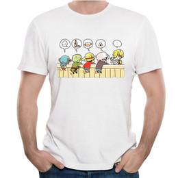 Luffy Clothing NZ - 2019 men s designer clothing tshirt One Piece T Shirt Luffy Roronoa Zoro Sanji Nami Tony Chopper Nico Robin Usopp Franky T Shirt