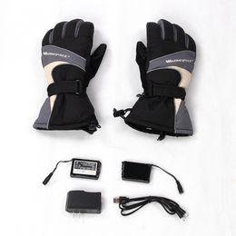 ElEctric warming glovEs online shopping - WARMSPACE Heated Gloves x MAH Electric Warm Gloves Heating Thermal Waterproof Winter Women Men