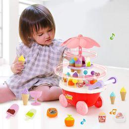 $enCountryForm.capitalKeyWord Australia - Children Role Play Toys Candy Cart Detachable Ice Cream Shop Cart Toy Fashion Ice Cream Shop Cart Toy