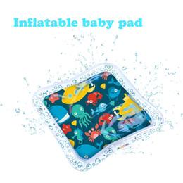 Bebek şişme su mat mükemmel eğlenceli zaman oyun aktivite merkezi bebeğinizin stimülasyon büyüme indirimde