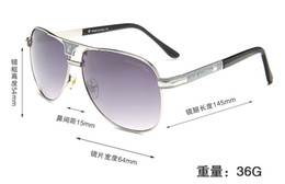 $enCountryForm.capitalKeyWord Australia - Luxury- High Quality Classic Pilot Sunglasses Designer Brand Mens Womens Sun Glasses Eyewear Metal Glass Lenses S1253