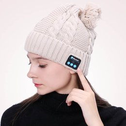 $enCountryForm.capitalKeyWord Australia - Bluetooth Hat Music Beanie Cap Bluetooth V4.1 Stereo wireless earphone Speaker Microphone Handsfree For IPhone 7 Samsung Galaxy S7 Music Hat