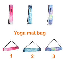 Wholesale 2019 New fashion Sports Fitness Dance Gymnastics Yoga mat Bag Exersice Mat Bag Pilates Pad Backpack