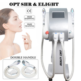 Lighting areas online shopping - ipl laser machines OPT SHR Whole body area laser hair removal machine e light skin care Spider vein removal therapy