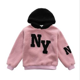 korean kids clothes winter autumn Australia - Kids designer clothes girls autumn and winter Teddy Sweater in the big childrens clothing Korean girls fashion pullover