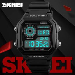 $enCountryForm.capitalKeyWord Australia - Skmei Famous Military Army Sport Watch Men Top Brand Luxury Electronic Led Digital Wristwatches Male Clock Men Relogio Masculino MX190716