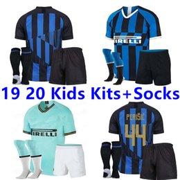 Discount milan kids soccer jersey - 2019 inter MILAN soccer jerseys milan 19 20 20th anniversary SKRINIAR ICARDI NAINGGOLAN PERISIC LAUTARO maillot de foot