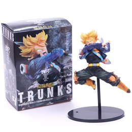 Female toy dolls online shopping - Anime Dragon Ball BWFC Model Doll Trunks PVC Boxed Decoration Toy Exquisite Male And Female Popular Gift Factory Direct hla I1