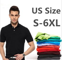 plus size pink polo shirt NZ - New 2020 Tops&Tees Men's Polo shirts Business men brands Polo Shirts embroidery mens Breathable gym polo shirt Plus Size S-5XL