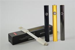 Variable Pen Australia - 510 Thread Batteries AMIGO Max Vape Preheat Battery for Liberty Tank 510 slim vape pen Battery variable voltage with Bottom micro Charge USB
