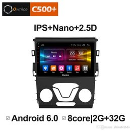 "radio gps ford mondeo NZ - 9"" 2.5D Nano IPS Screen Android Octa Core 4G LTE Car Media Player With GPS RDS Radio Bluetooth For Ford Mondeo 2013-2017 #3864"