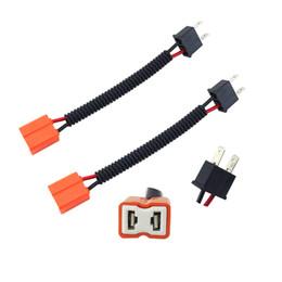 socket bulbs 2019 - LEEWA 2pcs Car ceramic connector H7 bulb connector high quality straight type H7 socket #5467 cheap socket bulbs
