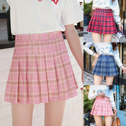 Women's Micro Mini Tennis Skirt Pleated Everyday Casual Wear Plaid Short Skirts